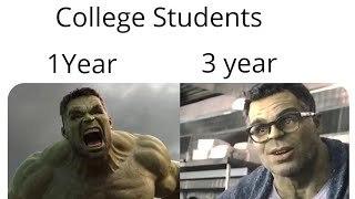 Hulk evolution - meme