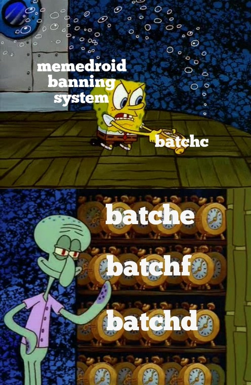 He's batch! He's batch! Are there any more batchs I should know about?!? - meme