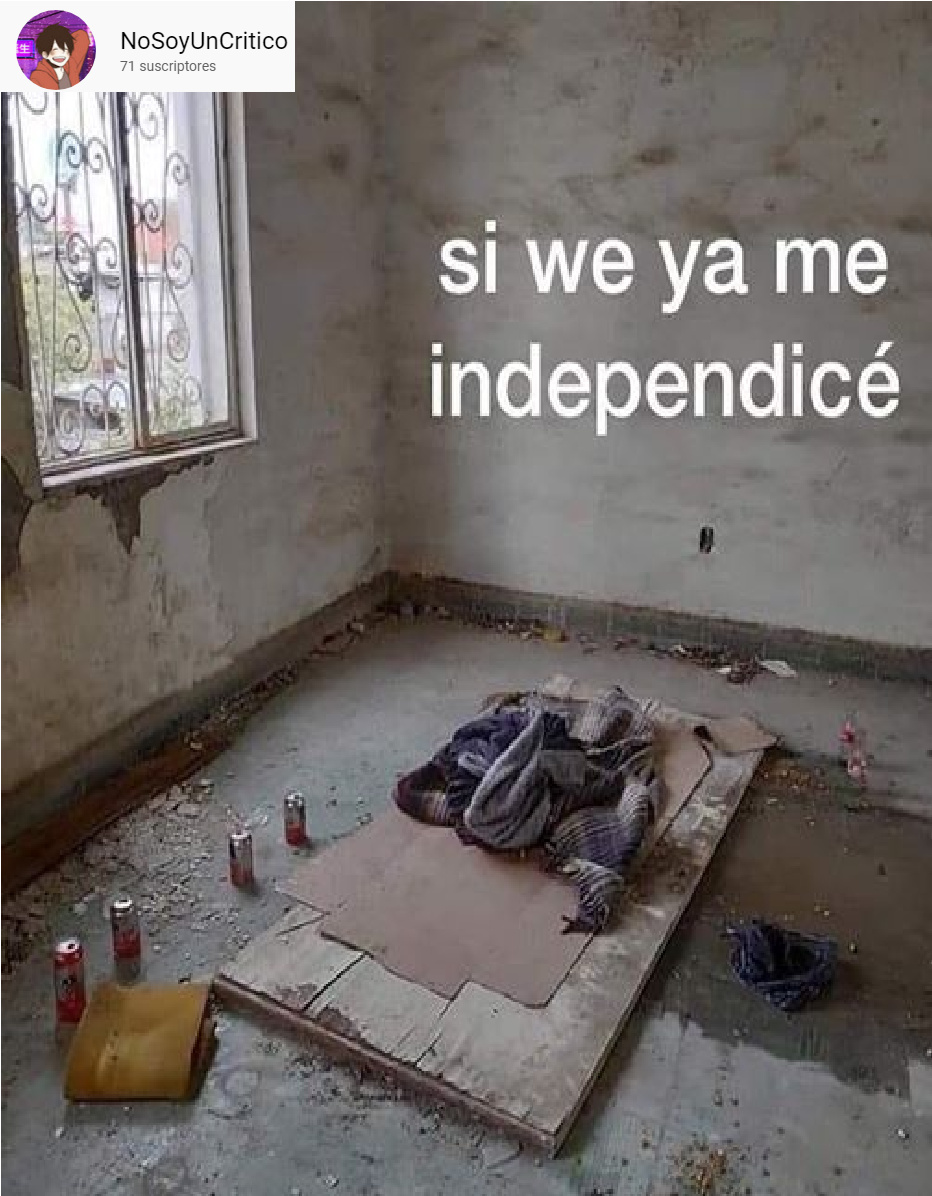 INDEPENDIENTE - meme
