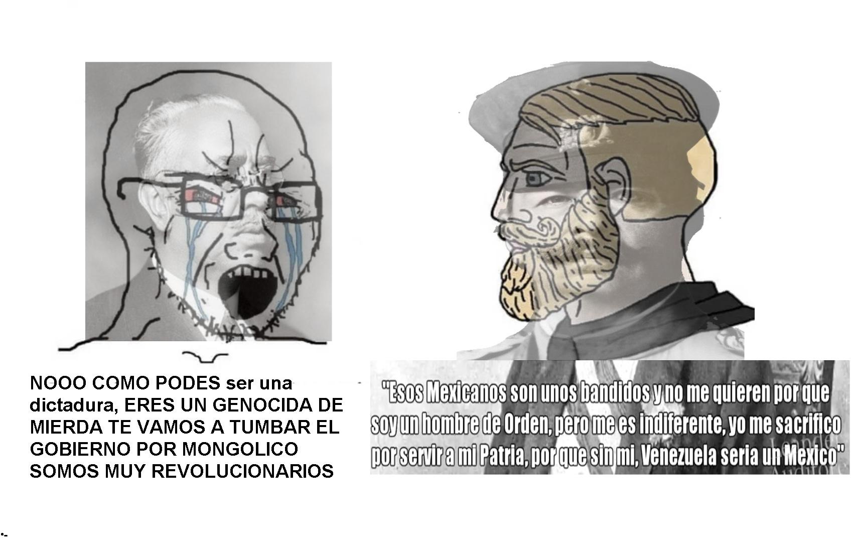 Vicente Gomez, el segundo Mejor presidente de Venezuela - meme
