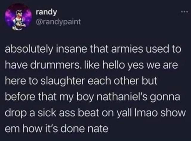 Anyone other drummers? - meme
