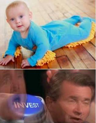 Baby Clothing Mop... YES - meme