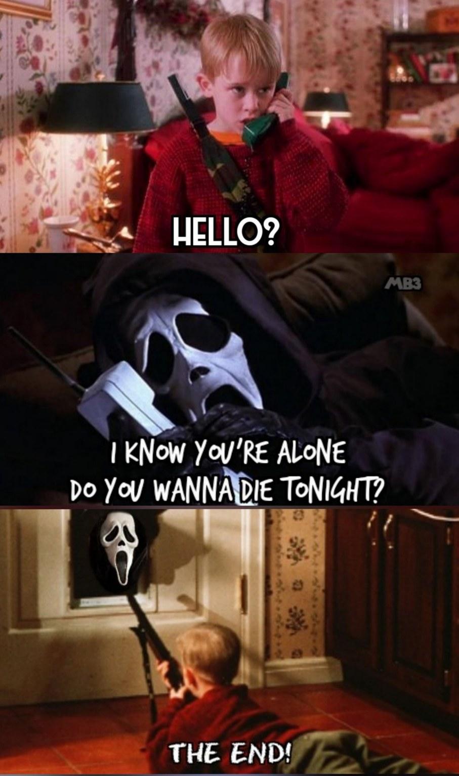 Home Alone Scream - meme
