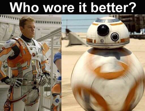 BB-8 is my BB-Y - meme