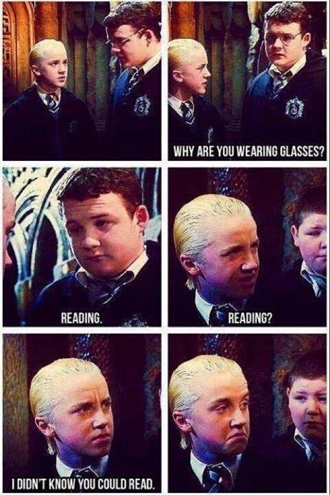 Draco is a cunt - meme