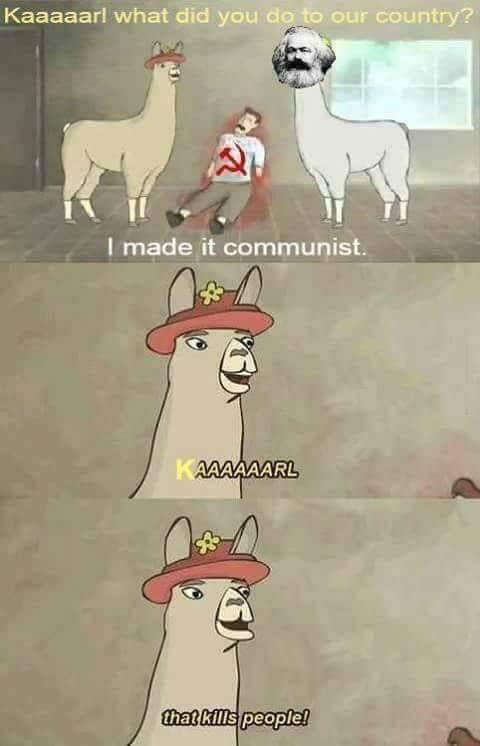 #CommunismIsTheft - meme