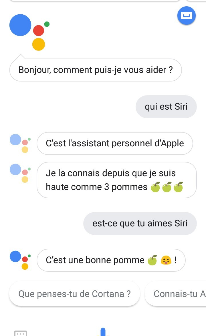 Google vs Apple - meme