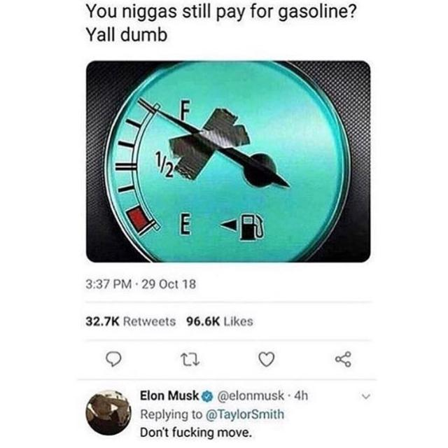 Fuel stations hate him - meme