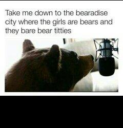 bearbie world - meme