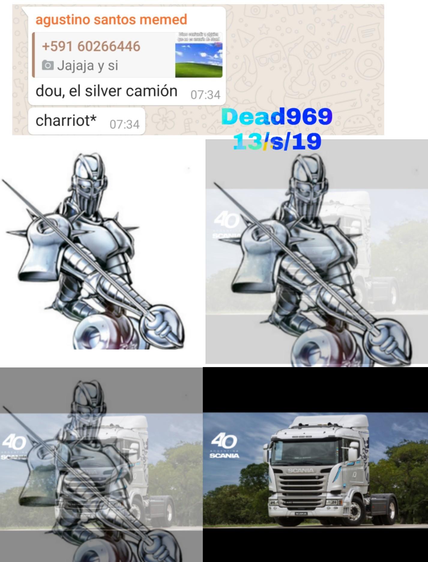 silver camion! - meme
