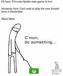 poor xbox - meme
