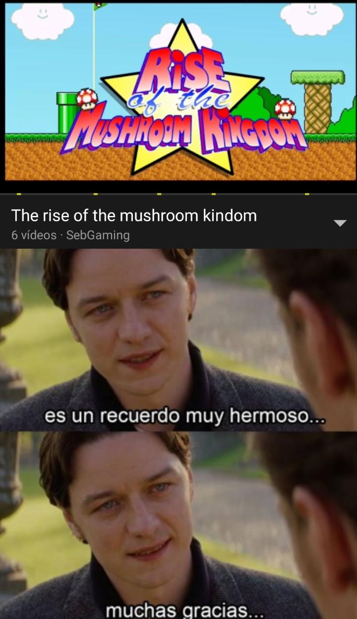 En español se llamaba la Muerte de Mario :sweet: - meme
