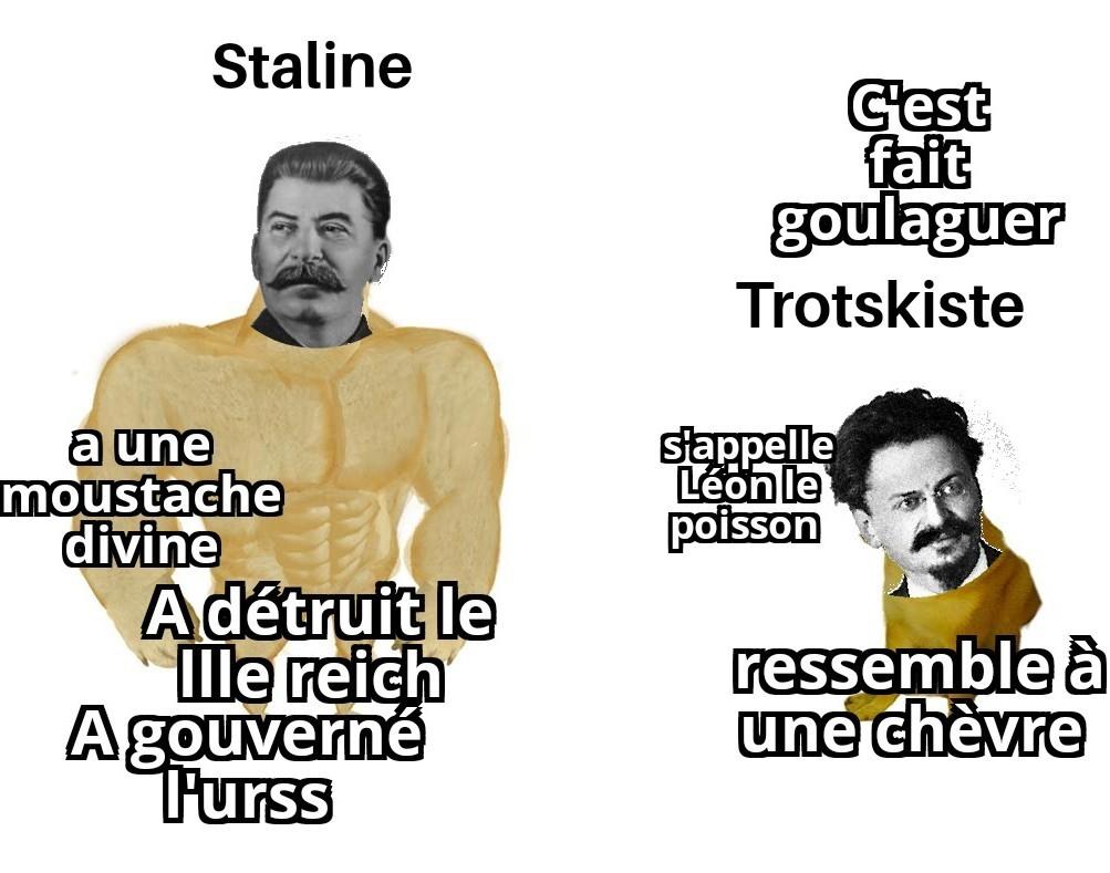 #trotskyaugoulag - meme