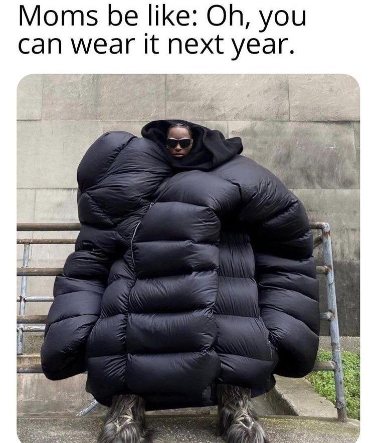 extra large sleeping bag - meme