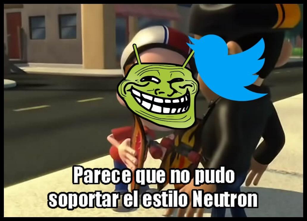 Contexto: Nos funaron en Twitter XDDDD - meme