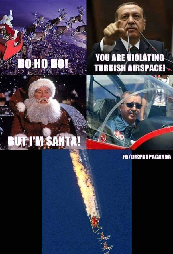Bad Luck Santa - meme