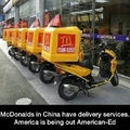 Why doesn't McDonalds deliver in USA?