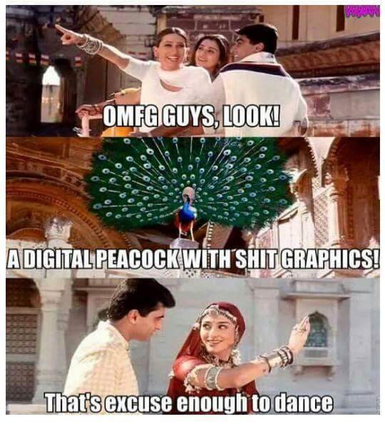 Bollywood movies be like... - meme