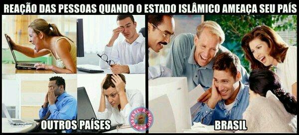 Vem k estado islâmico - meme