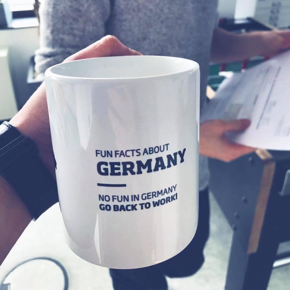 Germany is not fun - meme