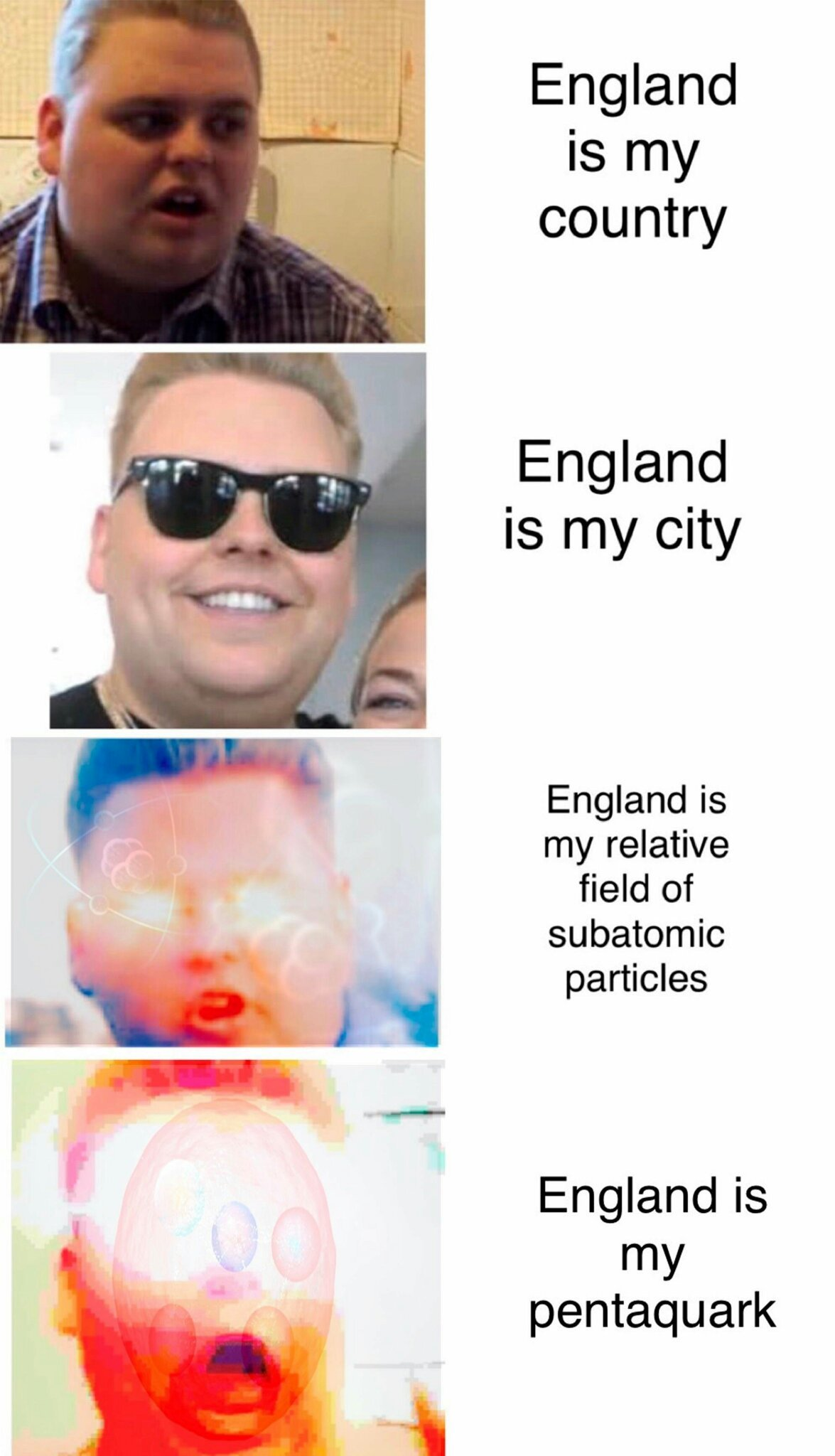 Open a cold one with England - meme