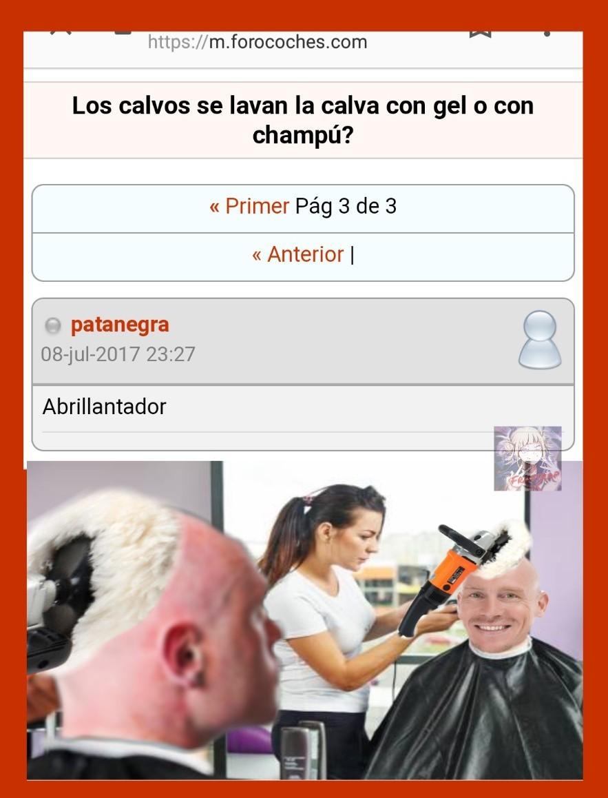 Calvos meme