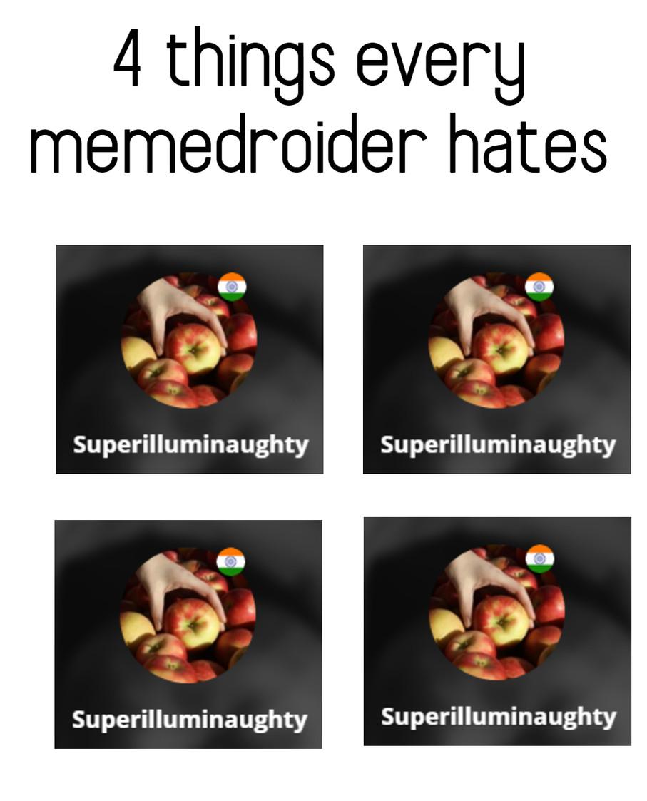 no hate towards him just a meme