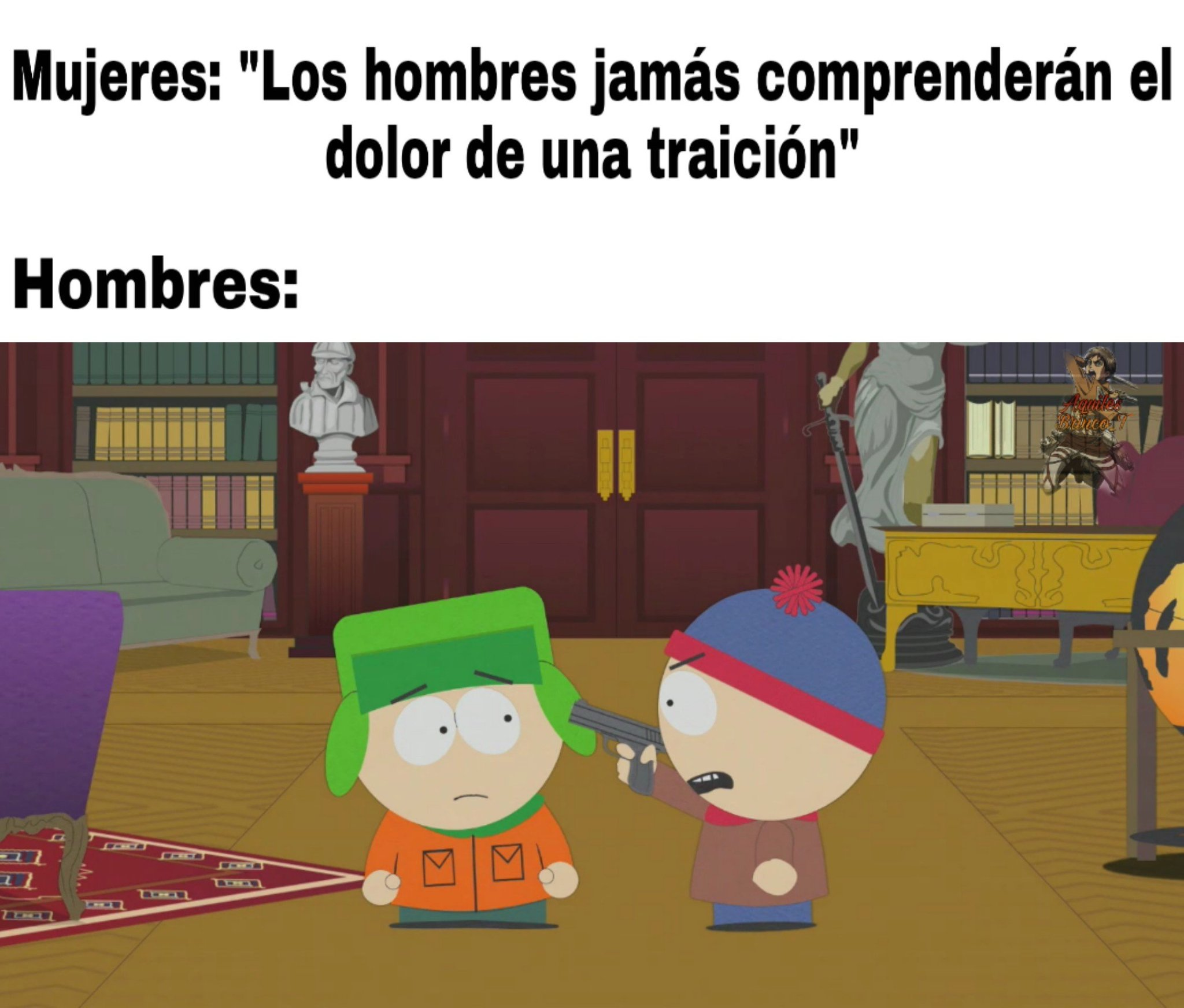 South park cc latino, para ver capitulos - meme