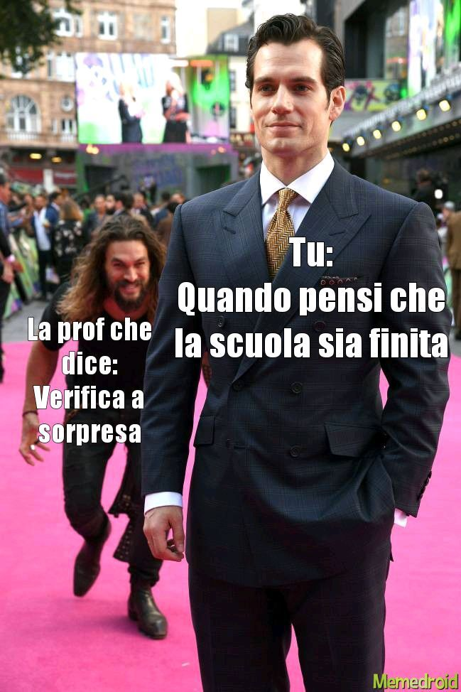 Managgia alla scuola - meme