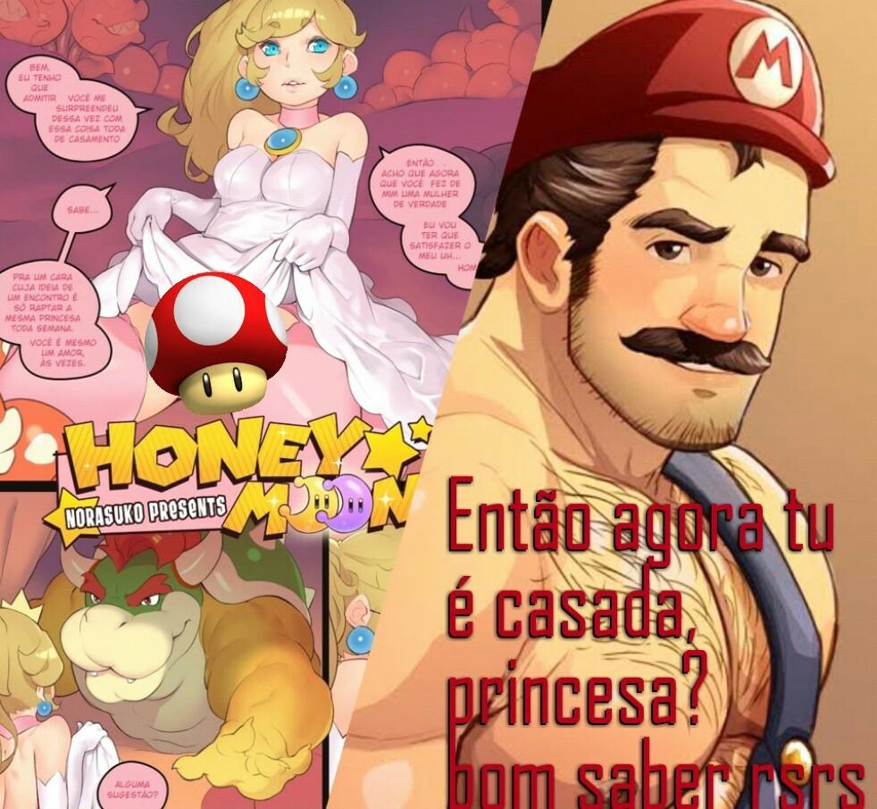 Mario comedor de casada fodasekkkkkkkk - meme
