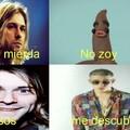 Kurt Donald Cobain si sabía de buena música