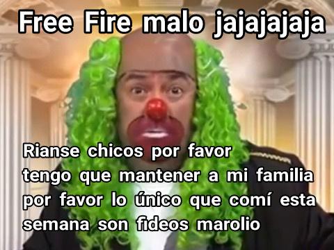 No estoy defendiendo al Free Fire,solo que ya cansan esos memes