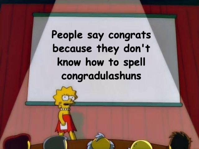 Lisa's right - meme