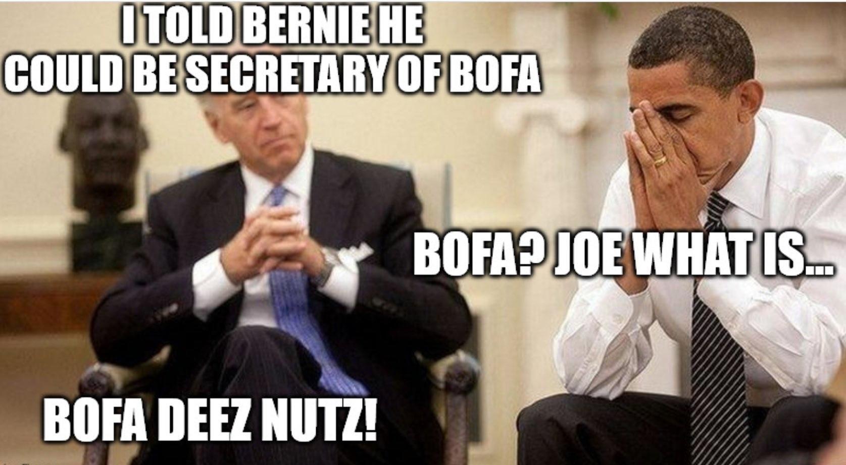 sloe Biden, hoe biden, foe biden, noe biden - meme