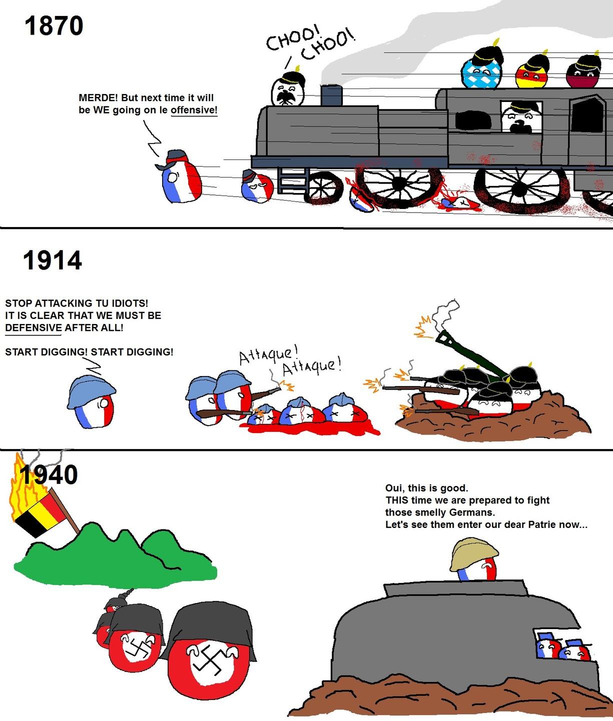 França is dead - meme