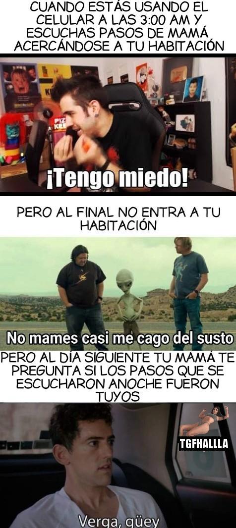 "Basado en hechos reales pd: pasense por mi canal de Youtube ""Franco Tirador"" (imagen de perfil de un dibujo) - meme"