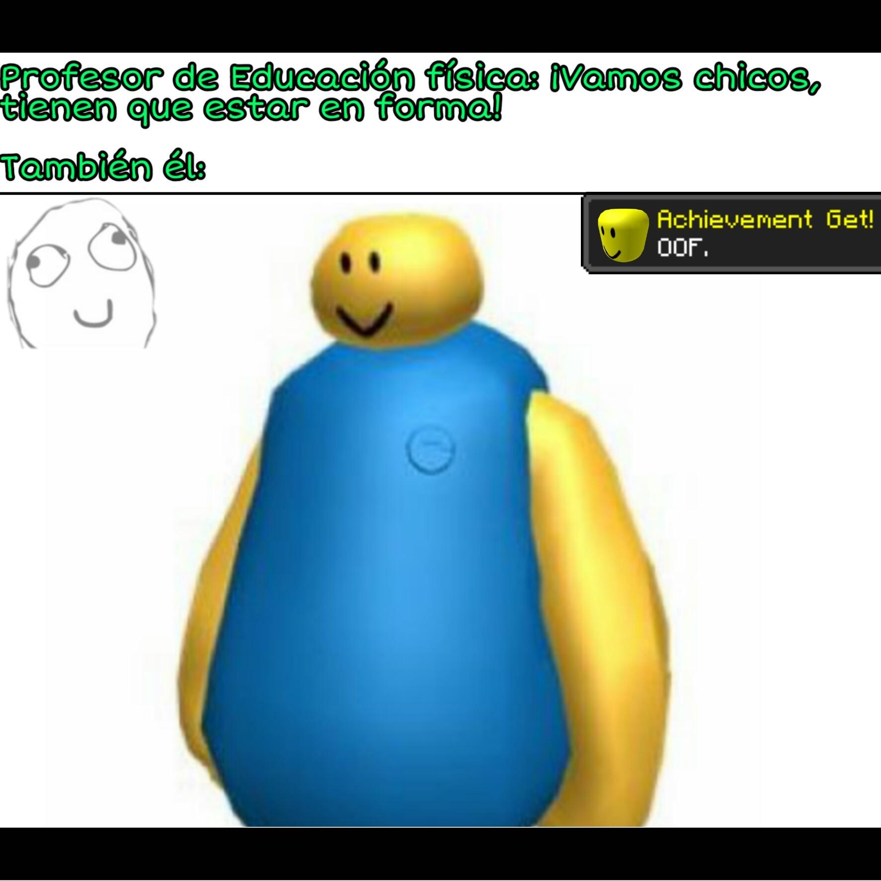 OOF gordo - meme
