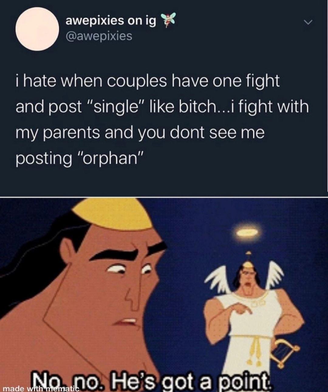 couple fights - meme