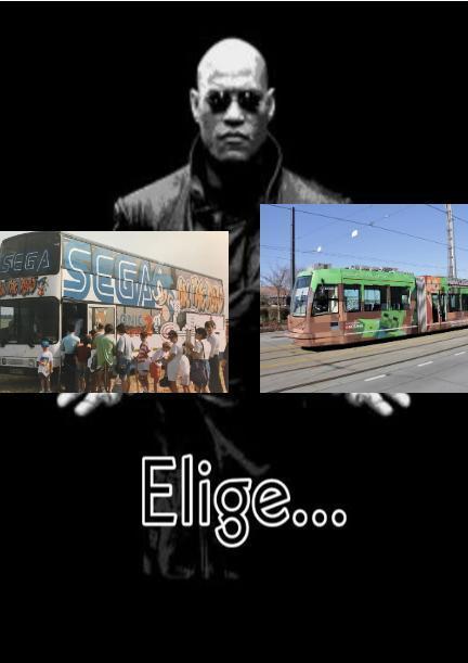 Autobús SEGA - meme