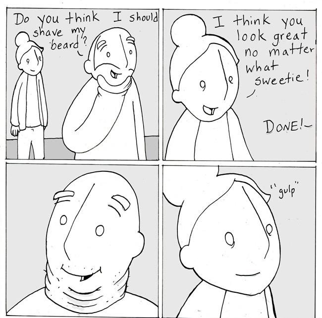 Nice shave - meme