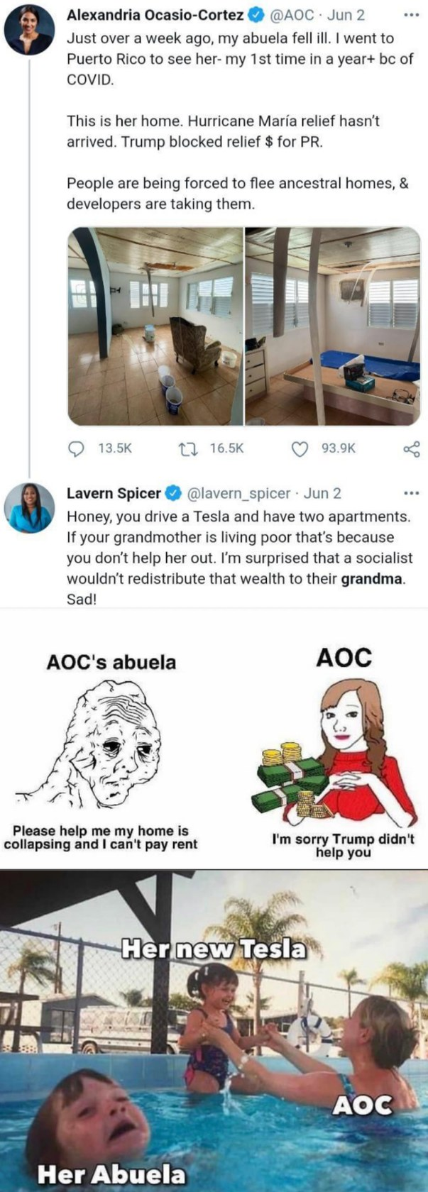 AOC be like - meme
