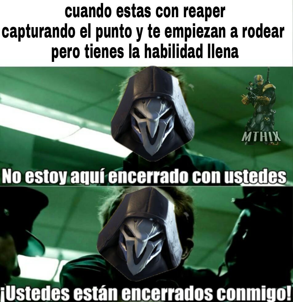 La ulti de reaper - meme