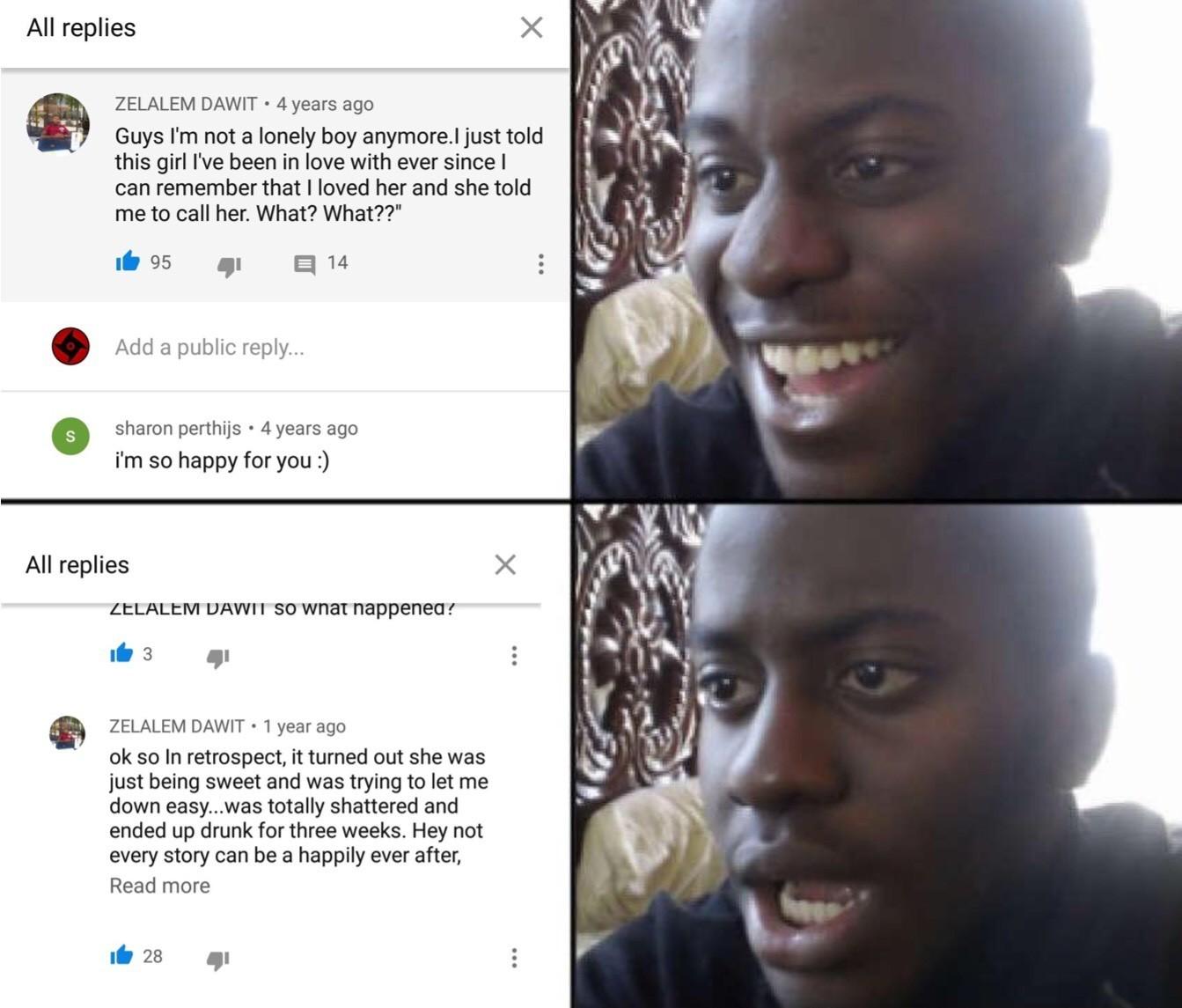 Lonely boy lirics comment section - meme