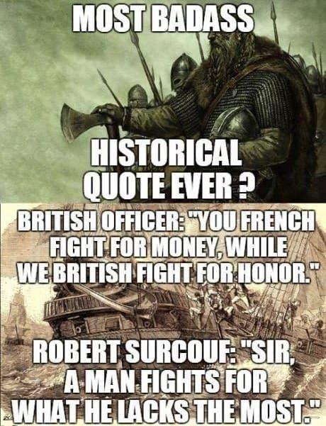 1 - 0 pour les français - meme