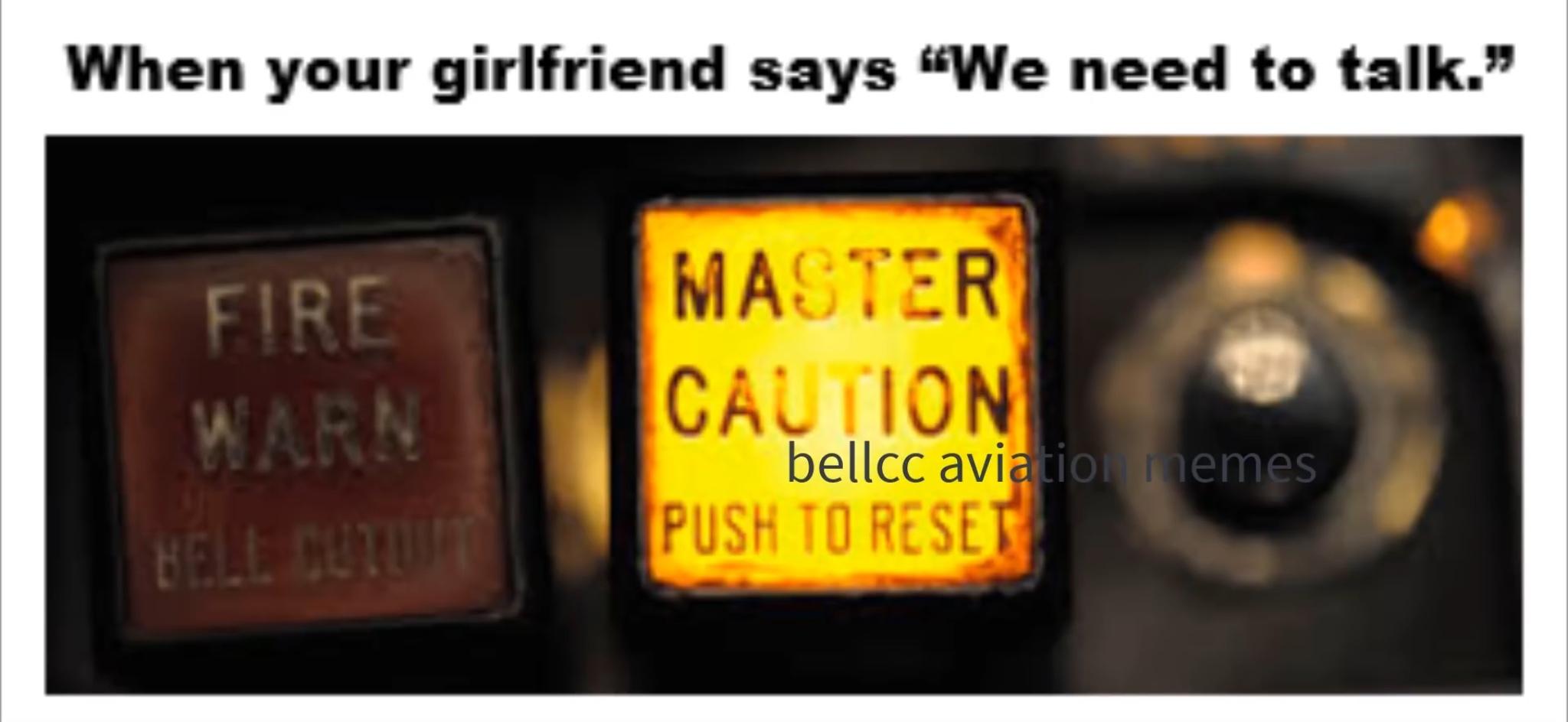 Master caution - meme