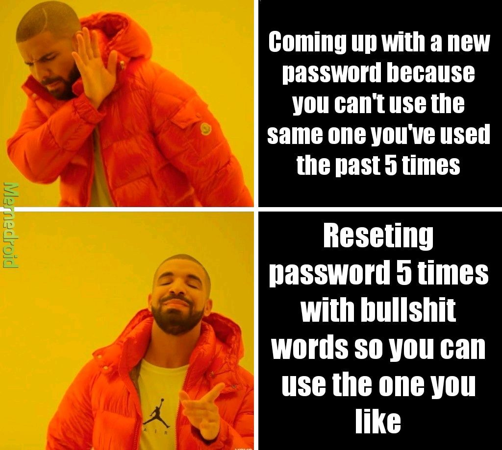 Insert password - meme