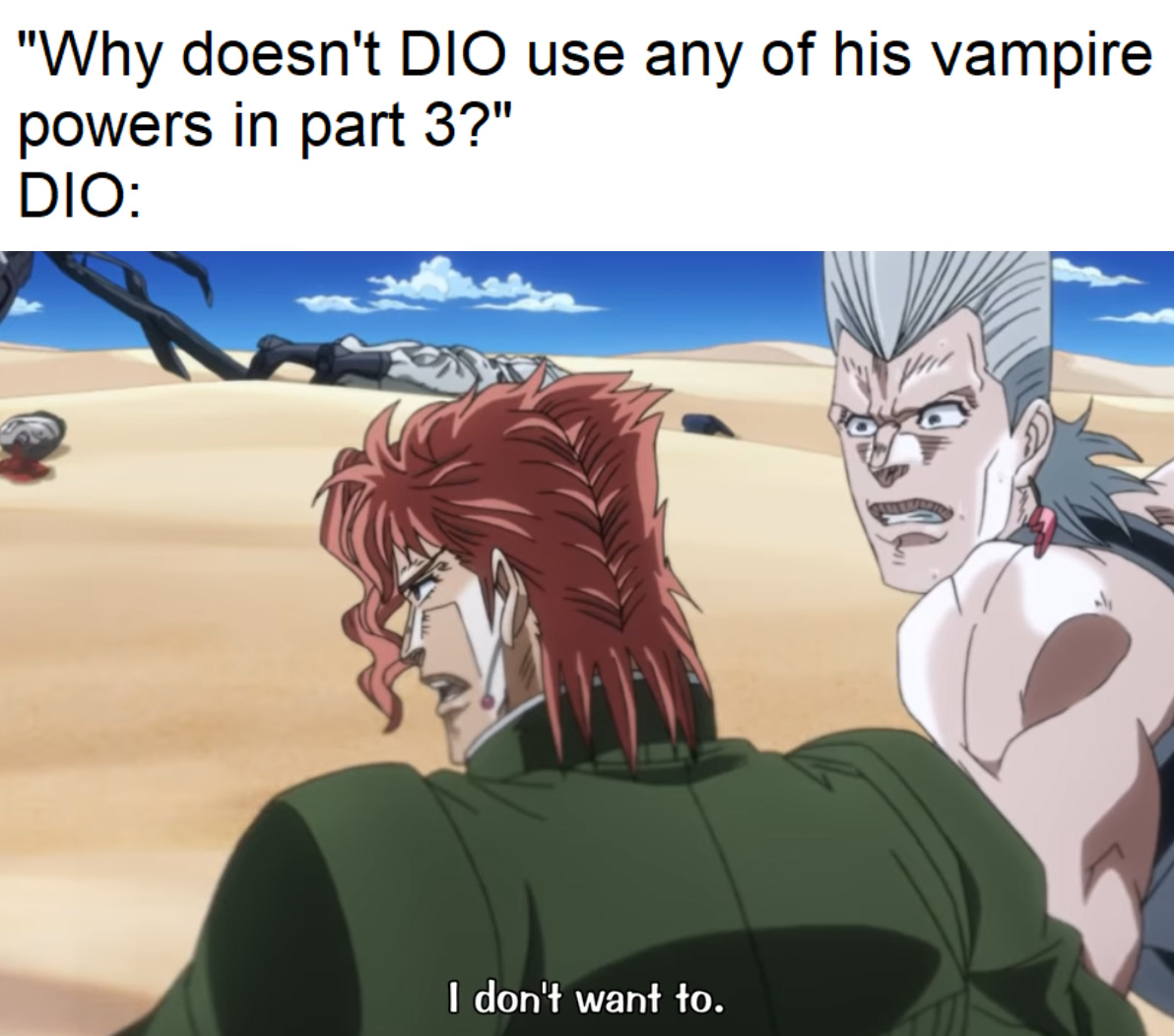 i dont wanna - meme