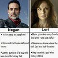 Negan vs. Lori