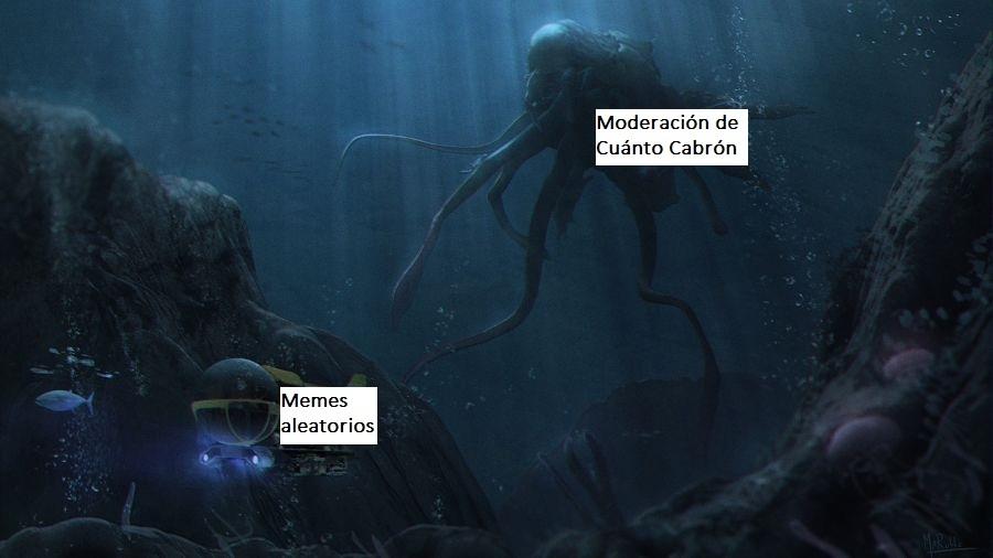 """""""Moderación"""" - meme"""