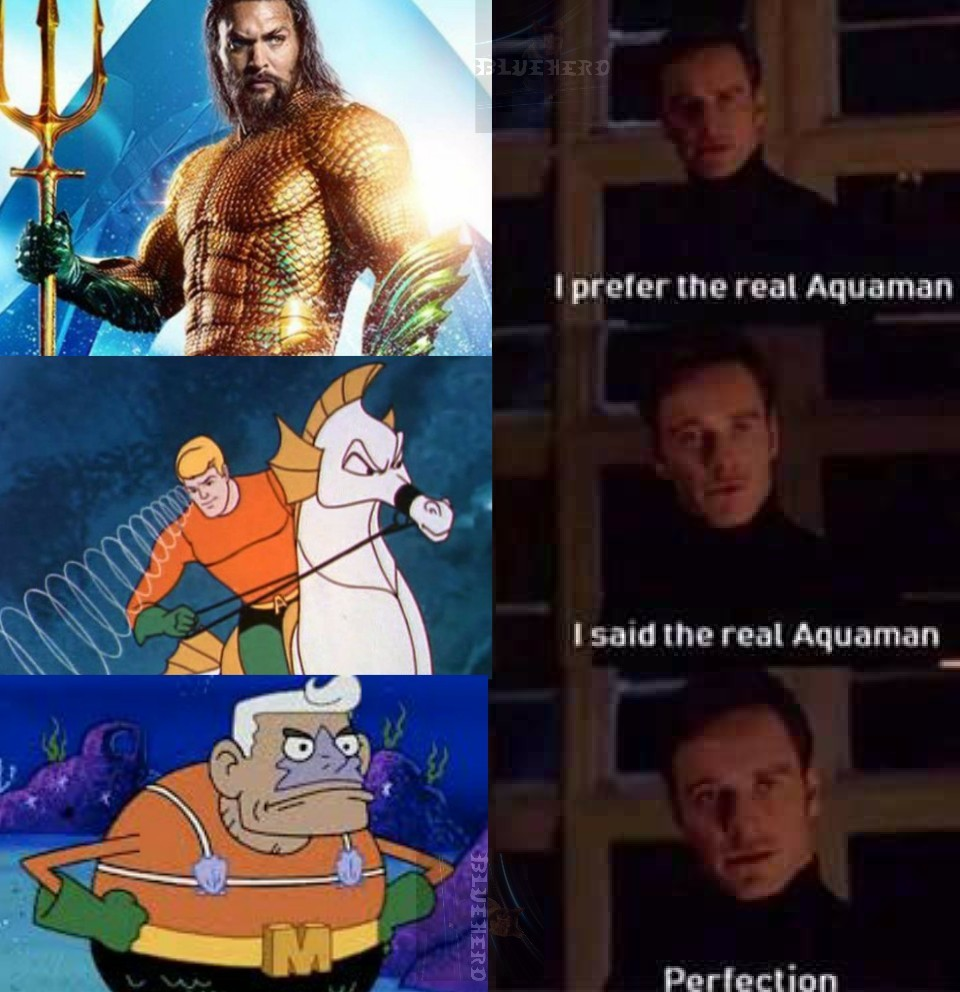 I like Mermaid man and barnacle boy better - meme
